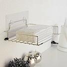 樂貼工坊 衛生紙架/不鏽鋼/微透貼面-24x18x4
