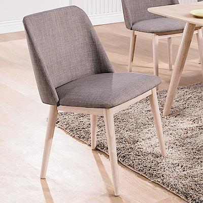 Bernice-瑪格北歐風餐椅/單椅(兩色可選)-50x53x82cm