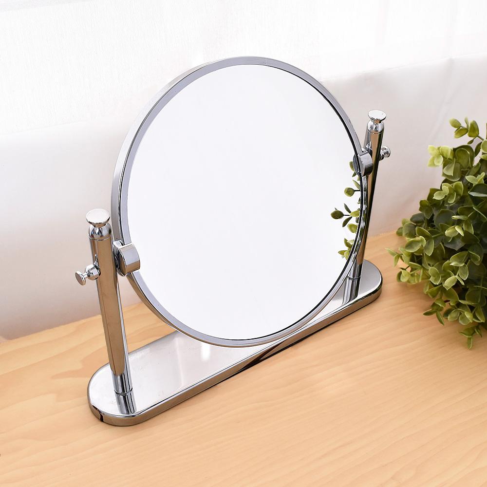 質感雙面圓形桌鏡 鏡子/化妝鏡(桌鏡)