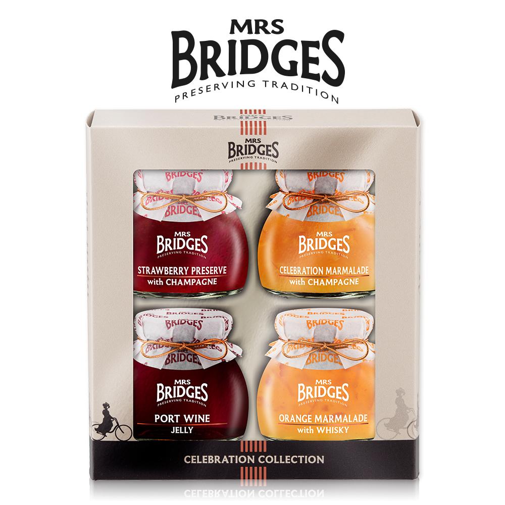 MRS. BRIDGES 英橋夫人慶典系列果醬(113g*4)