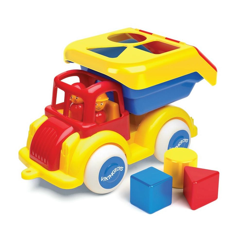 瑞典Viking Toys維京玩具-形狀分類卡車