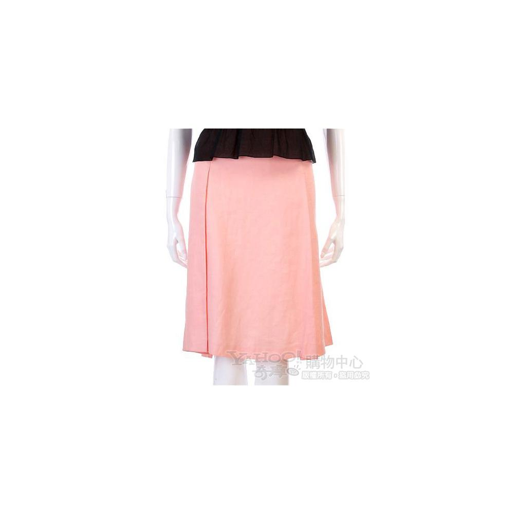 VALENTINO 粉色氣質及膝裙