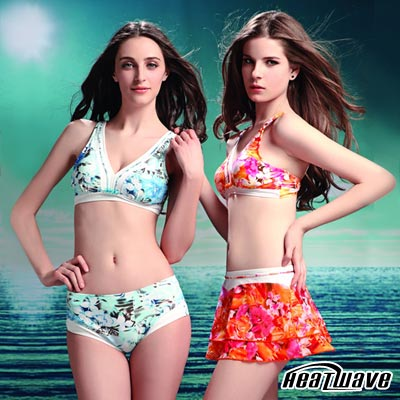 Heatwave熱浪 花采清涼 萊克比基尼三件式泳裝