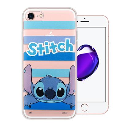 迪士尼授權正版 iPhone 8/iPhone 7 大頭招呼系列軟式手機殼(史迪...