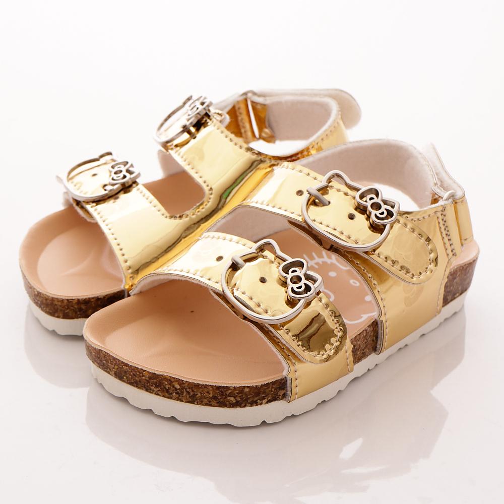 HelloKitty童鞋 閃耀涼鞋款 17963 金 (中大童段)T1