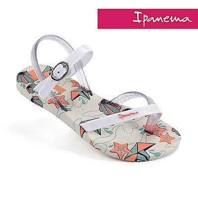 IPANEMA 時尚夏季休閒涼鞋-米色/白色