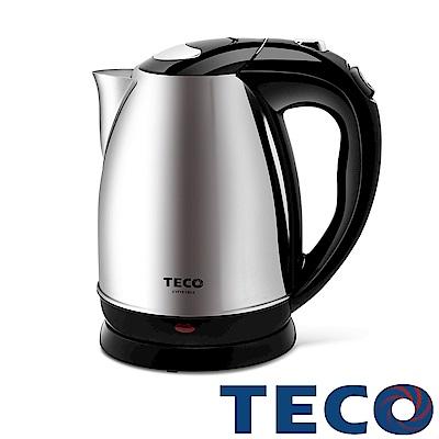 TECO東元 1.8L大容量不鏽鋼快煮壺 XYFYK1804