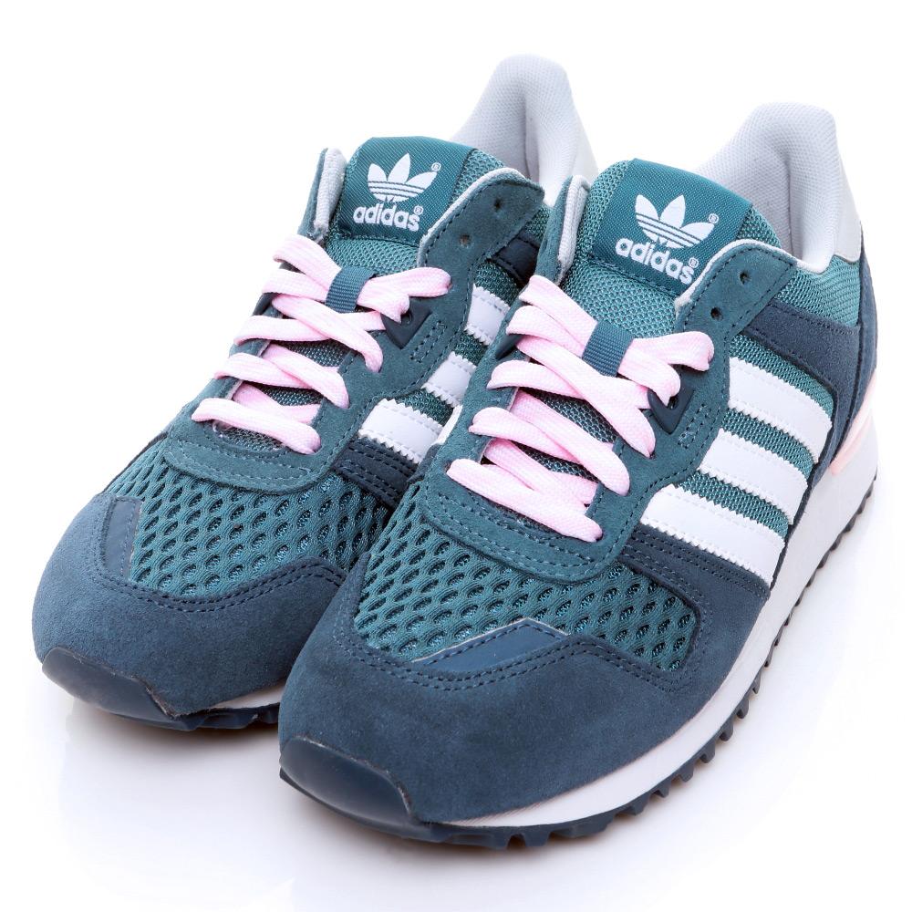 ADIDAS-女慢跑鞋S78940-藍