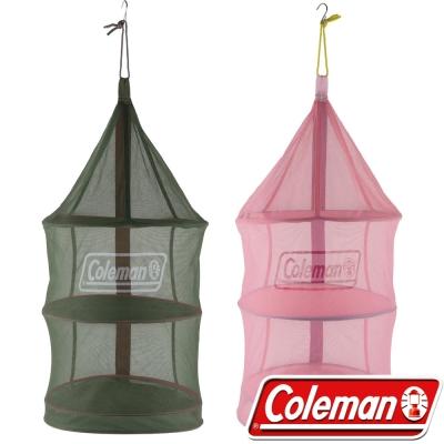 Coleman 26811_綠+26812粉紅 收納廚網/防蚊防蠅吊籃/通風餐廚籃 公司貨