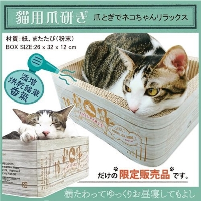 寵喵樂 iCat CATS PARTY 貓草抓板睡窩