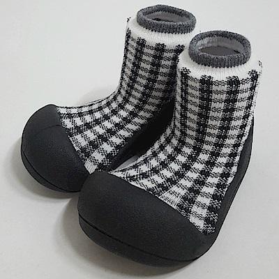 韓國Attipas 快樂學步鞋A18CB-黑色蘇格蘭