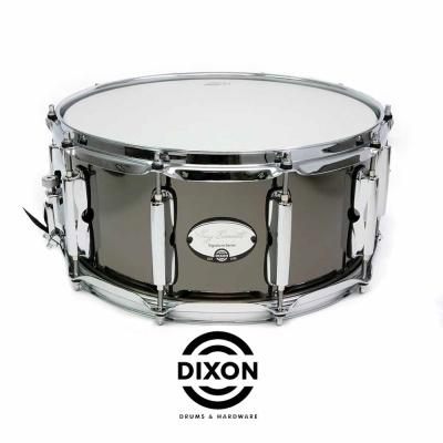 DIXON Gregg Bissonette 代言黑色鐵鍍小鼓