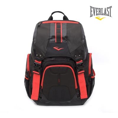EVERLAST 拳擊 品牌~雙肩大後背包~黑 紅