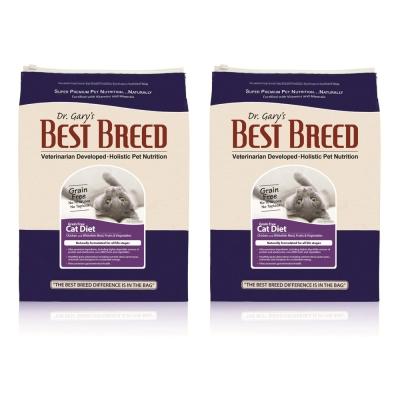 BEST BREED貝斯比 全齡貓低敏無穀配方 貓飼料 1.8kg x 2包入