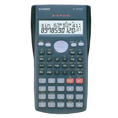 CASIO卡西歐 12位數工程型計算機FX-350MS