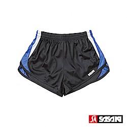 SASAKI 吸濕排汗田徑短褲-男-黑/寶藍/白