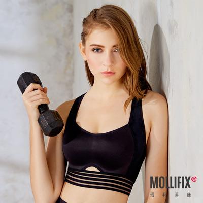 Mollifix瑪莉菲絲 高衝擊循環運動BRA (黑)