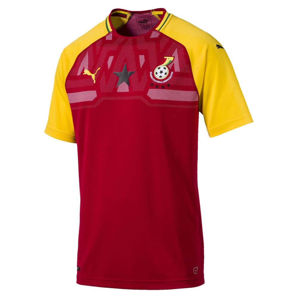 PUMA-足球系列國家概念短袖球衣-迦納(M)
