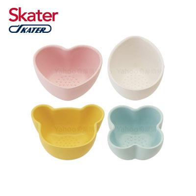 Skater離乳調理餵食小缽(4入組)