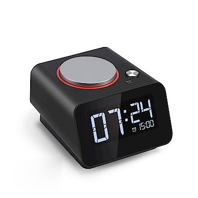 HOmtime C1mini多功能鬧鐘/時鐘 雙USB充電座 電子鐘