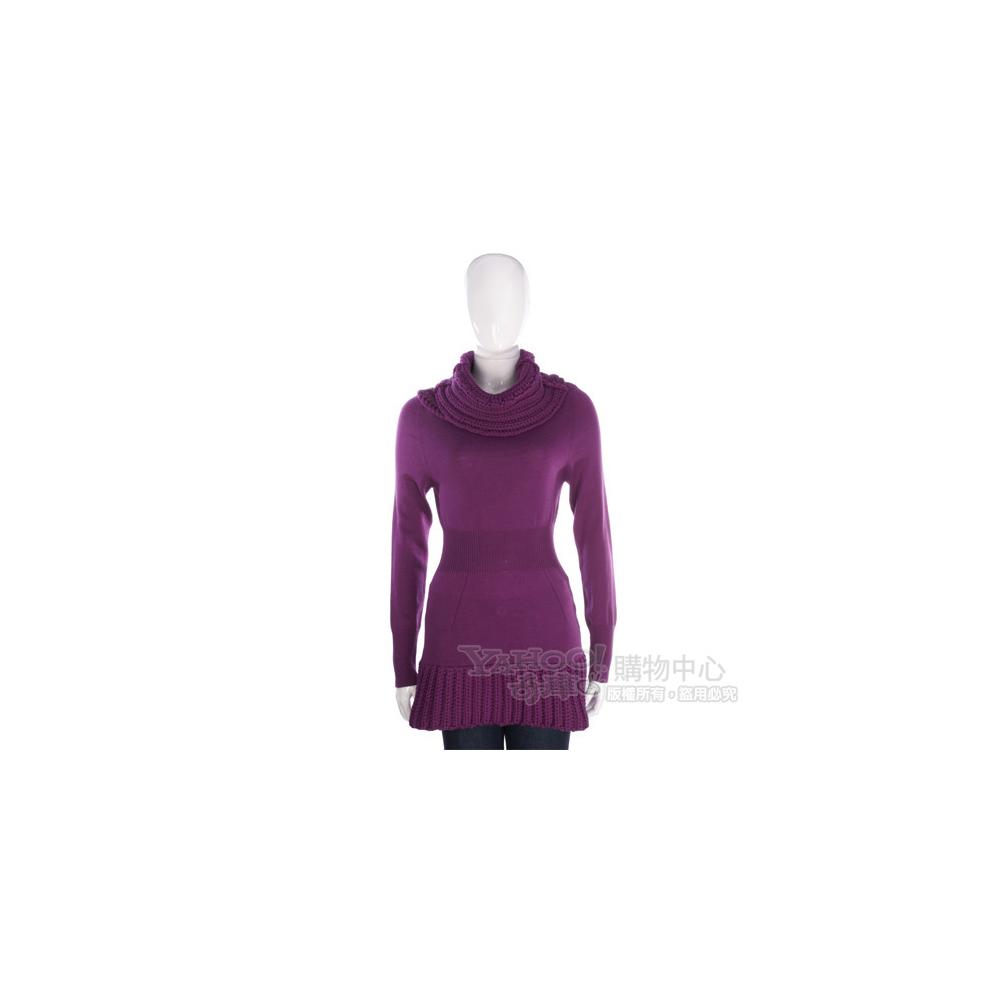 PULLAROUND 紫色針織羊毛上衣