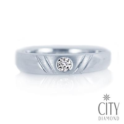 City Diamond引雅【Vintage系列】-8分鑽石戒指-DR00521