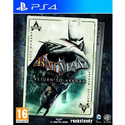 蝙蝠俠:重返阿卡漢 Batman: Return to Arkham-PS4英文歐版