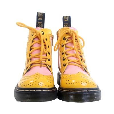 魔法Baby 學院風高筒靴  sh5229