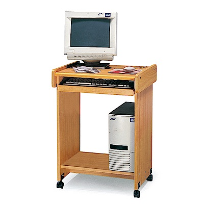 Bernice-2尺開放式電腦桌(附輪移動式)-59x48x75cm