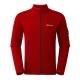 【Berghaus 貝豪斯】男款彈性刷毛保暖外套H22MU8紅 product thumbnail 1