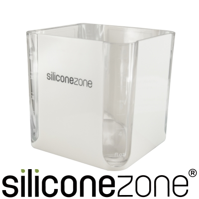 Siliconezone 施理康520ml耐熱立方造型計量杯&計量匙-灰色