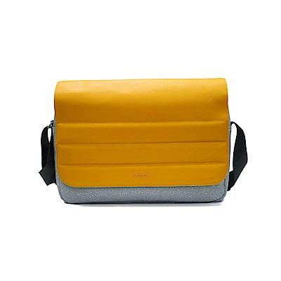 FEDON 1919 Ninja 輕便側揹雙色13吋電腦包-蜂蜜黃