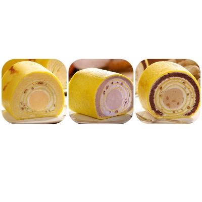 艾葛蛋捲狂人 綜合千層蛋捲(紅蕃1/3切+香芋1/3切+魔豆1/3切/盒)