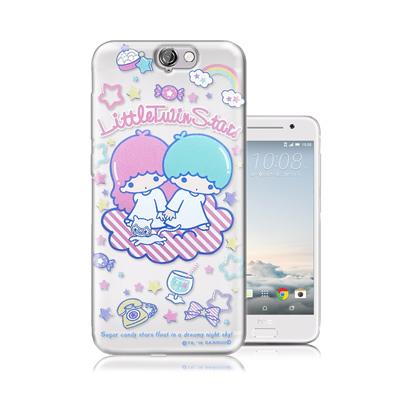 三麗鷗正版-雙子星-HTC-One-A9-透明軟式保護殼-休閒