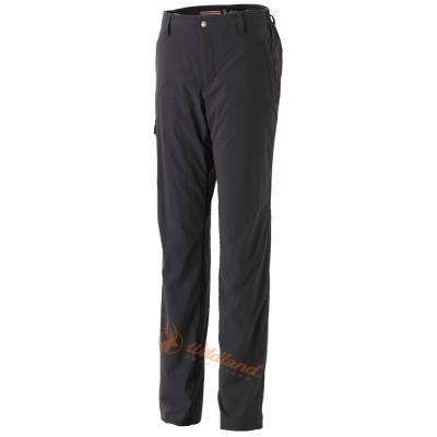 Wildland 荒野 0A32311-96深鐵灰 女 SOFTSHELL貼袋合身褲