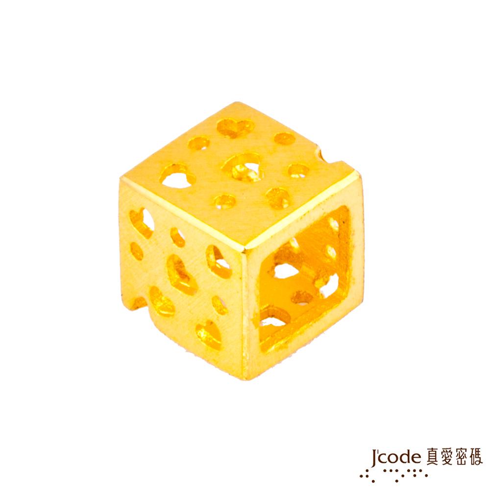 J'code真愛密碼金飾 愛情世界黃金串珠