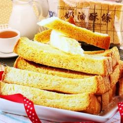 花蓮黃金奶油酥條 3包 (素食可)