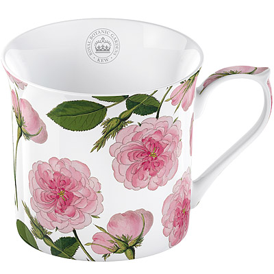 CreativeTops Kew骨瓷馬克杯(粉玫瑰 230 ml)