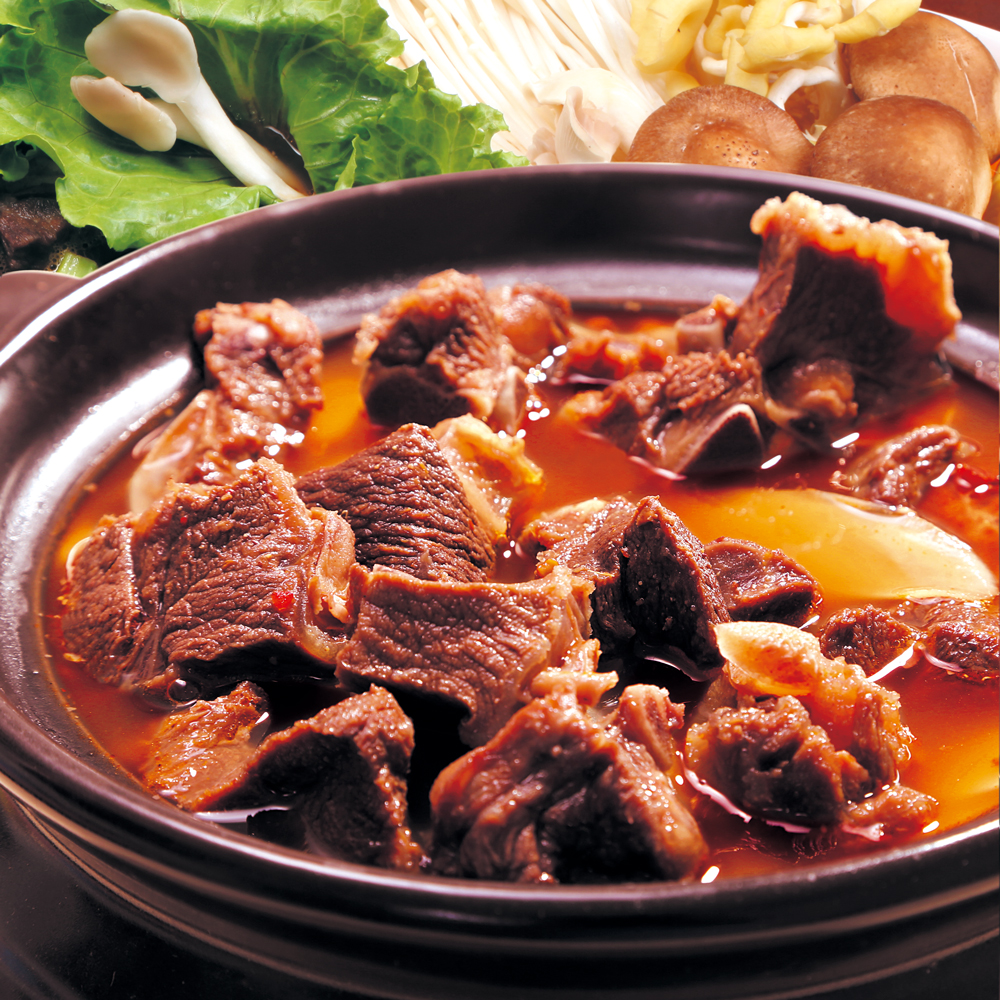 村子口 原汁紅燒羊肉爐-澎湃2入組(1200g/入)