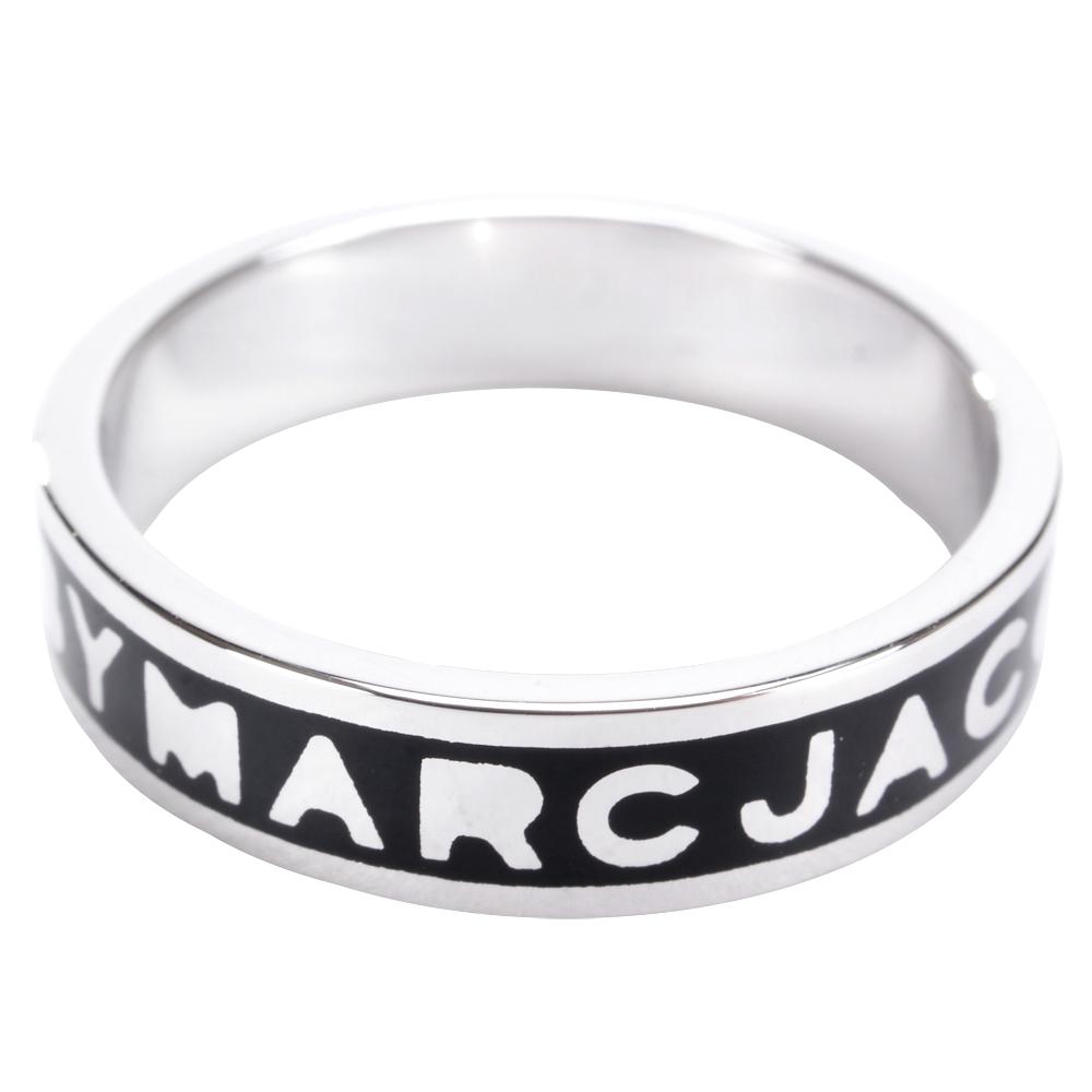 MBMJ Marc Logo Band Ring 黑色戒指
