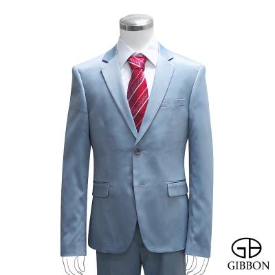GIBBON 都會時尚修身西裝外套‧黑曜灰46~50