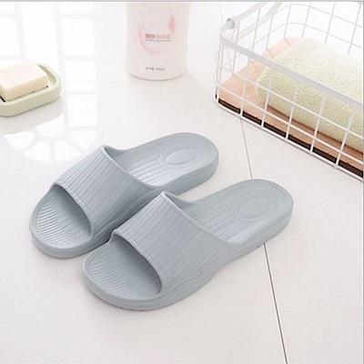 日創優品 38度Q加厚柔軟室內外拖鞋-霧深灰27.5cm