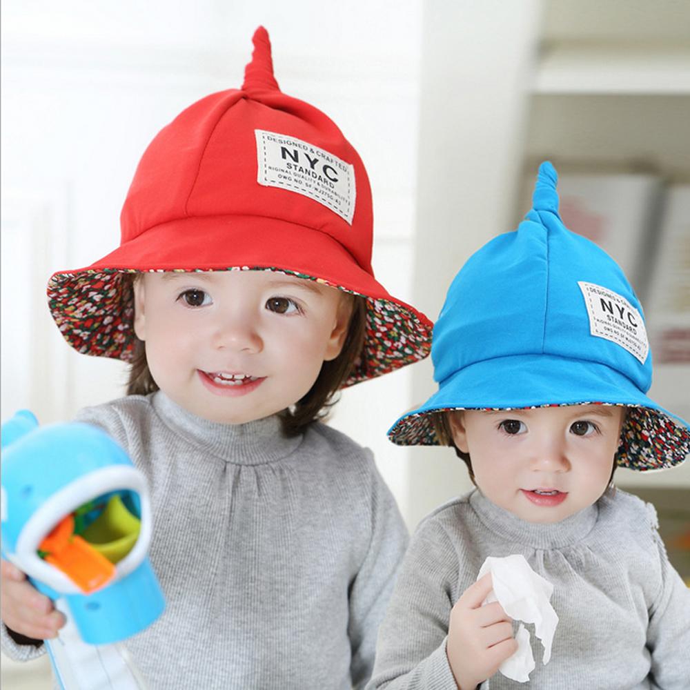 韓版-彩虹魔法兒童盆帽