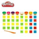 play doh 培樂多 字母數字遊戲組
