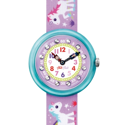 FlikFlak 兒童錶 MAGICAL UNICORNS 魔法獨角獸手錶