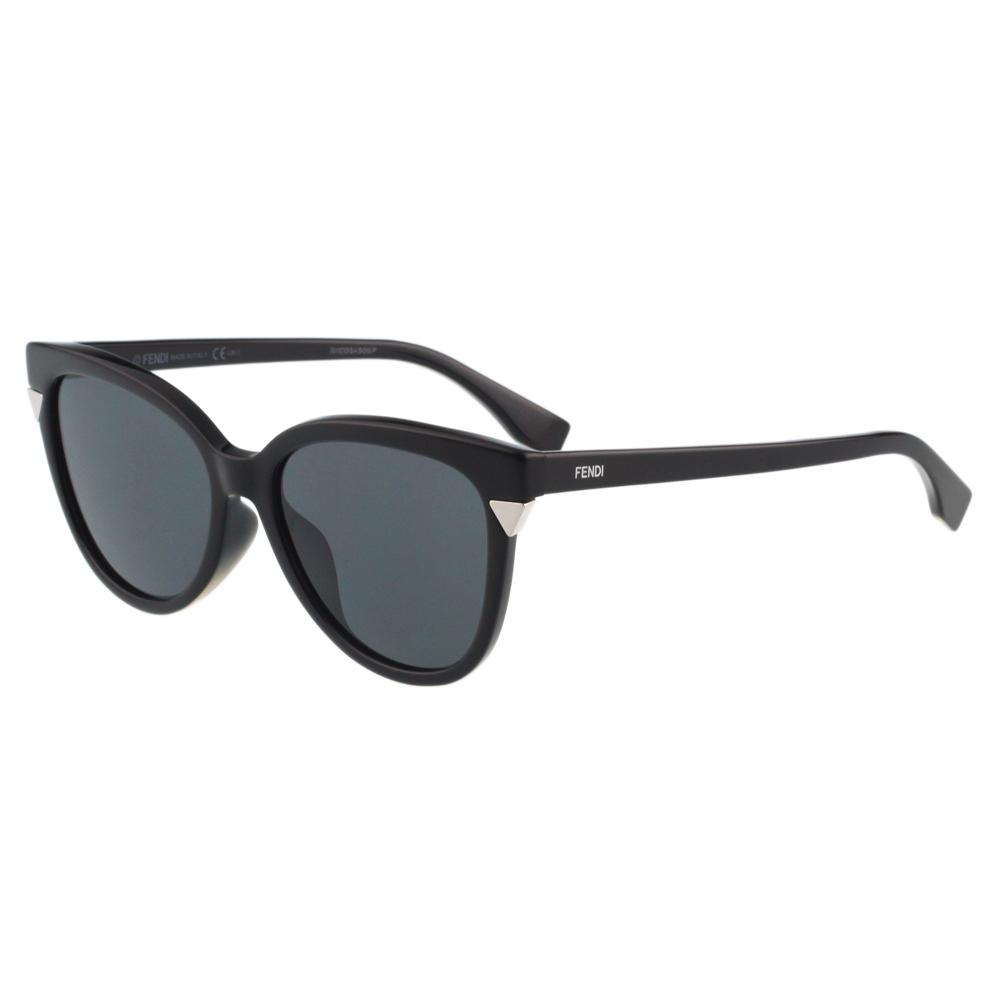 FENDI-小貓眼 太陽眼鏡(黑色)