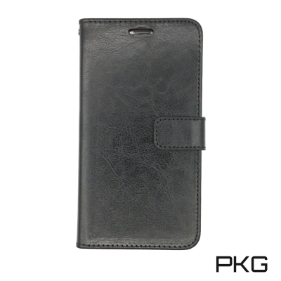 PKG Nokia6 側翻式皮套-精選系列-黑色