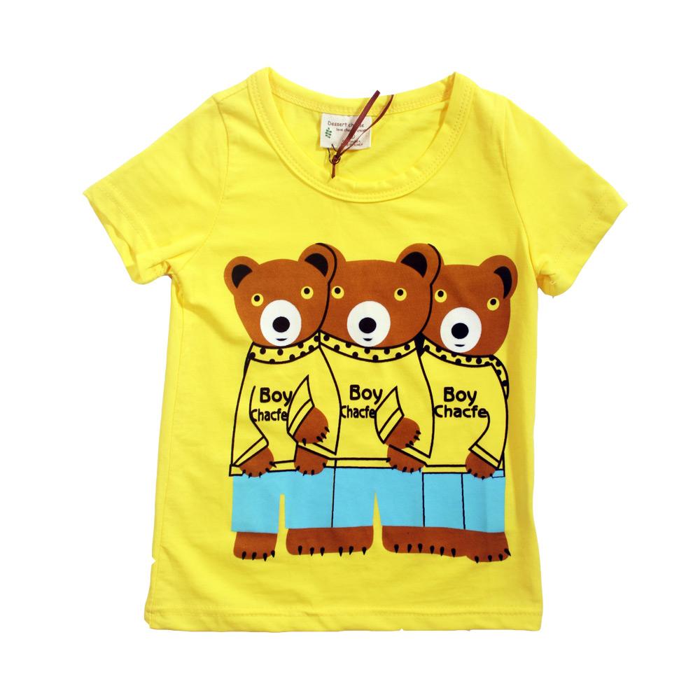 魔法Baby 兒童短袖舒適T恤 k39528