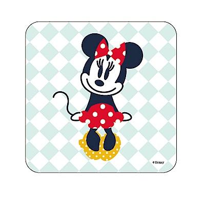 【迪士尼獨家授權】普普風珪藻土吸水杯墊/皂盤 -水水米妮