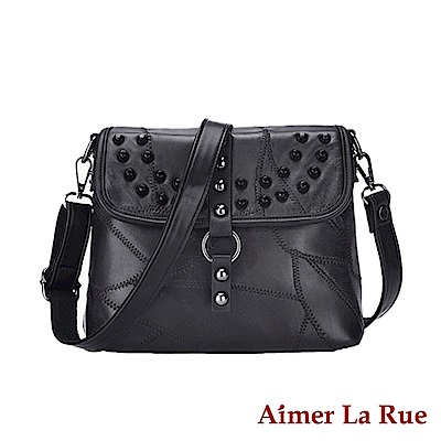 Aimer La Rue 側背包 羊皮弗麗嘉系列(黑色)